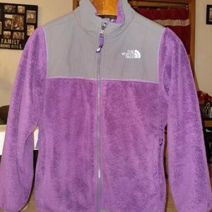 The North Face fleece jacket Kids Large 14/16